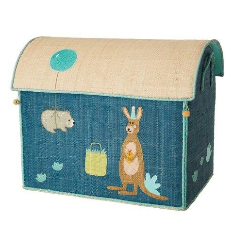 Rice speelgoedmand  kangoeroe Birthday Animals