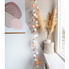 Cotton ball lights lichtslinger Macaron USB met stekker