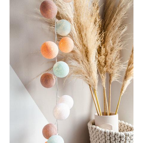 Cotton ball lights lichtslinger Macaron USB