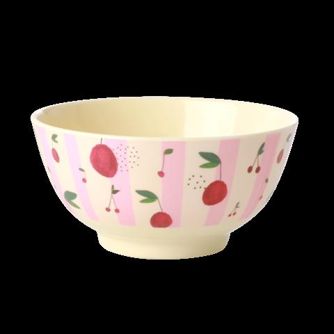Rice melamine schaal Cherry print
