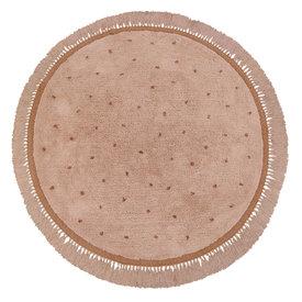 Tapis Petit Tapis Petit kindervloerkleed Juul Dots roze