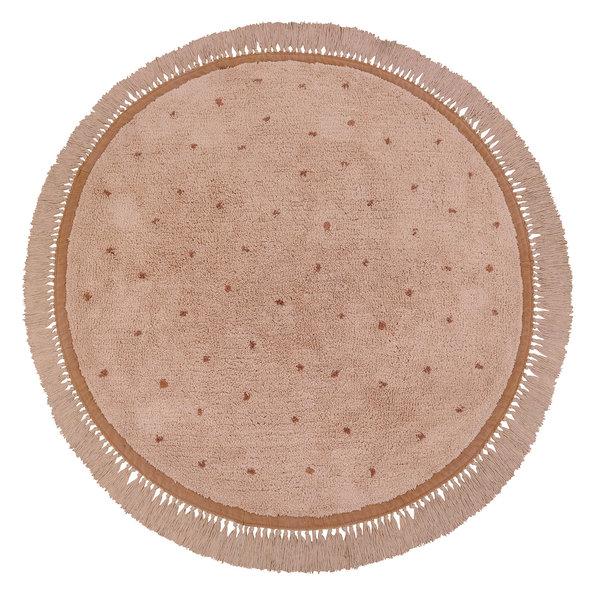 Tapis Petit Tapis Petit vloerkleed kinderkamer rond Juul Dots roze