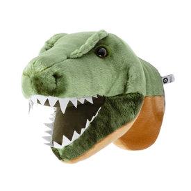 Wild & Soft Wild & Soft dierenkop dino T-Rex