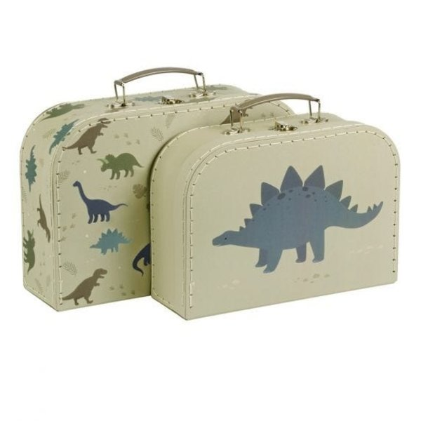 A Lovely Little Company A Lovely Little Company speelgoedkoffers dinosaurussen
