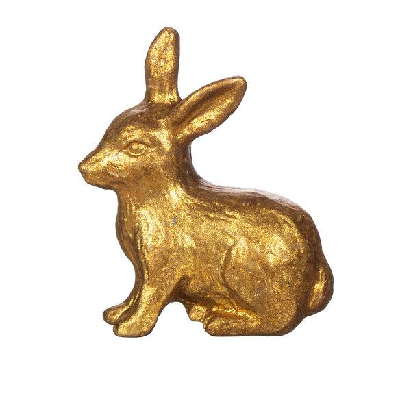 Sass & Belle Sass & Belle deurknopje konijn goud