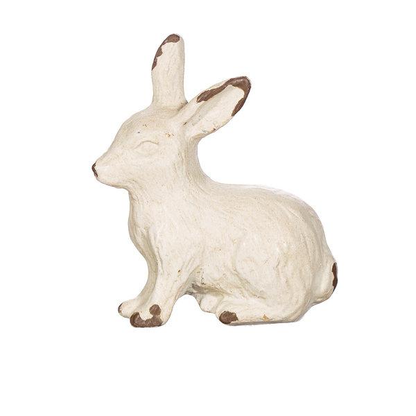 Sass & Belle Sass & Belle deurknopje konijn antiek wit vintage