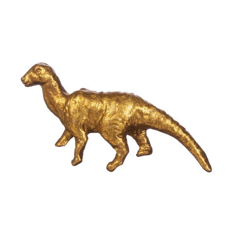 Kastknopje dino goud