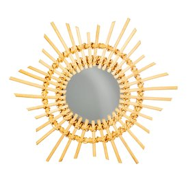 Sass & Belle Sass & Belle spiegel rotan Starburst mini