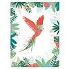 Lilipinso kinderposter papegaai vliegende papegaai
