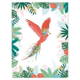 Lilipinso Lilipinso poster kinderkamer vliegende papegaai