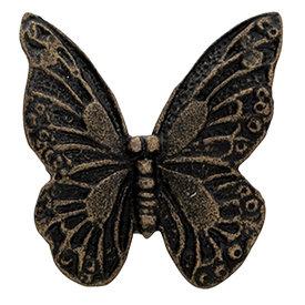 Clayre & Eef Clayre en Eef deurknop vlinder goud bruin