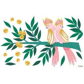 Lilipinso Lilipinso muursticker tropische vogels kaketoes