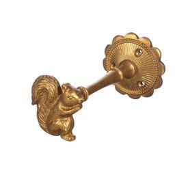 Sass & Belle Sass en Belle kinderkapstokje eekhhorn goud