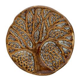 Clayre & Eef Clayre en Eef deurknopje boom bruin