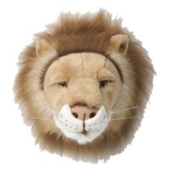 Wild & Soft Wild & Soft dierenkop pluche leeuw