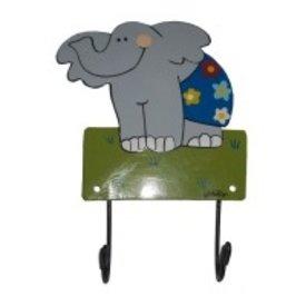 Mila Mila kapstokje olifant blauw