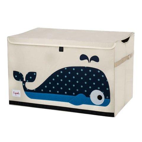 3 Sprouts speelgoedkist walvis