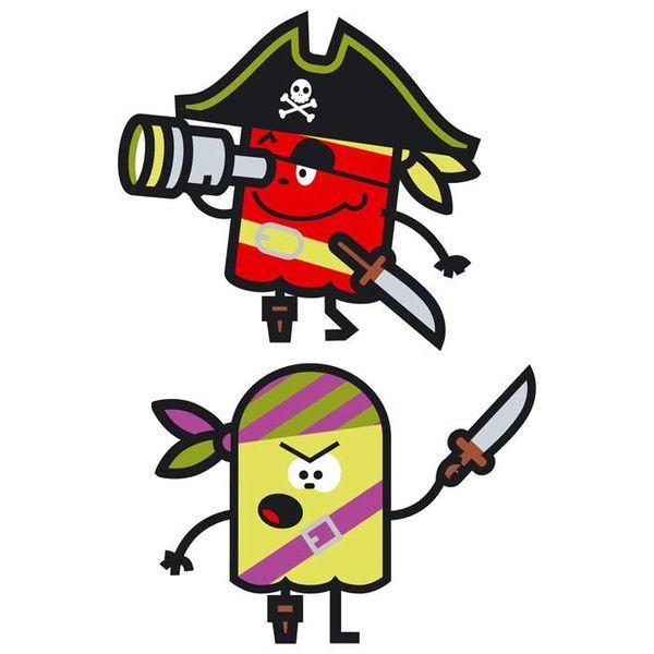 Art-Sticker Muursticker piraten II