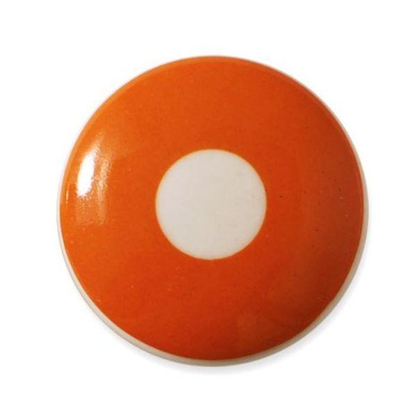 Aspegren Denmark Aspegren deurknopje kinderkamer polka oranje