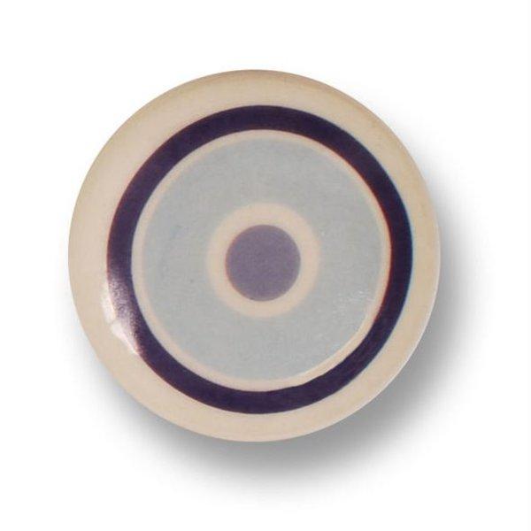 Aspegren Denmark Aspegren deurknopje kinderkamer cirkels blauw