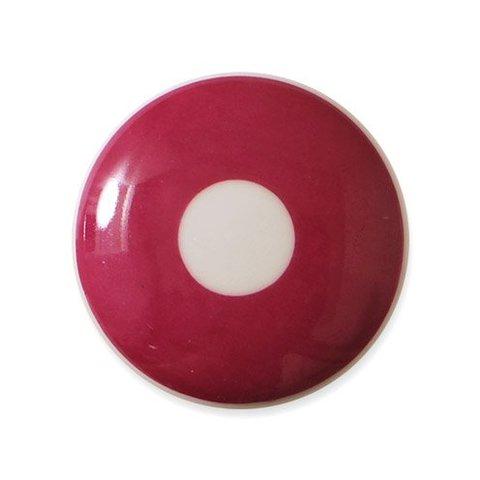 Aspegren deurknopje kinderkamer polka donkerroze