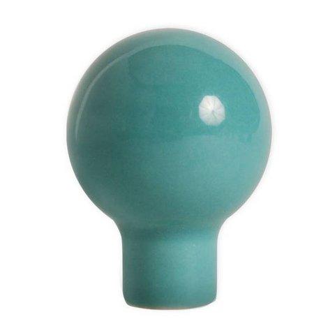 Aspegren deurknopje rond funny aqua