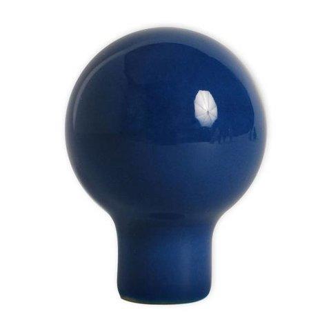 Aspegren deurknopje rond funny donkerblauw