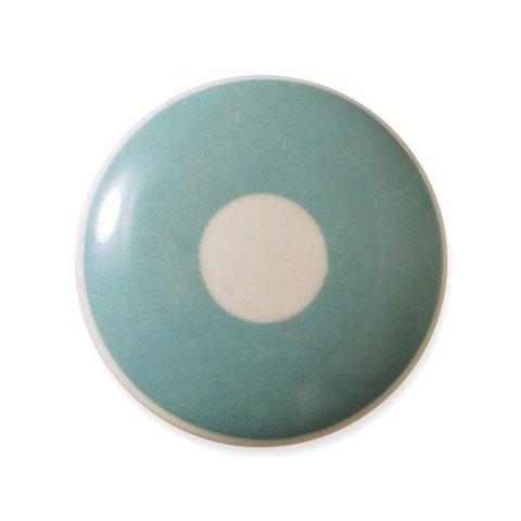 Aspegren deurknopje kinderkamer polka lichtblauw