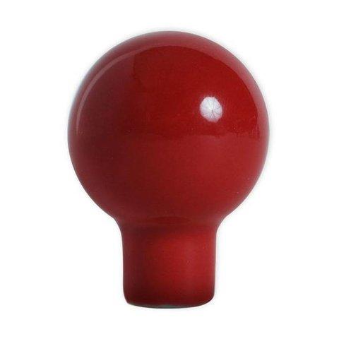 Aspegren deurknopje rond funny rood