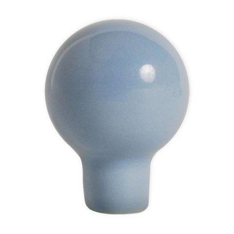 Aspegren deurknopje rond funny lichtblauw