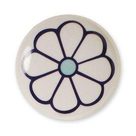 Aspegren Denmark Aspegren deurknopje bloem donkerpaars blauw