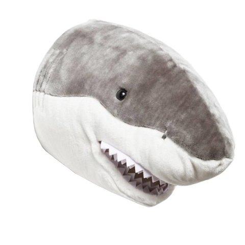 Wild & Soft dierenkop haai
