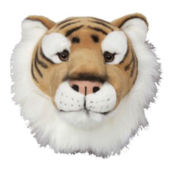Wild & Soft Wild & Soft  pluche trophy tijger