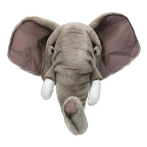 Wild & Soft dierenkop olifant