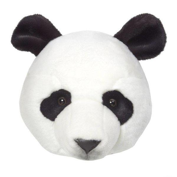 Wild & Soft Wild & Soft dierenkop  panda