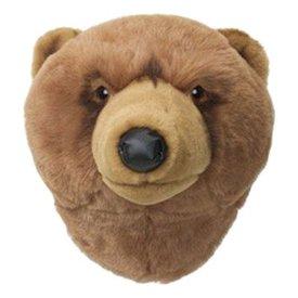 Wild & Soft Wild & Soft dierenkop beer bruin