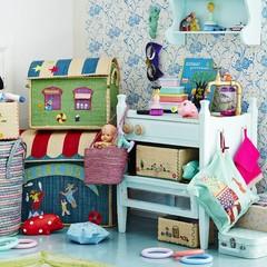 Opbergmanden, speelgoedkisten & kinderkamer wasmanden