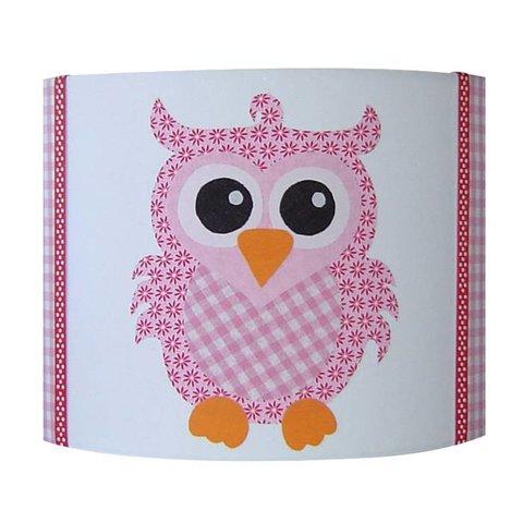 Designed4kids wandlamp uil roze