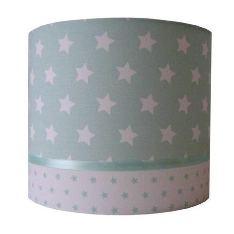 Designed4kids wandlamp sterren groot mint
