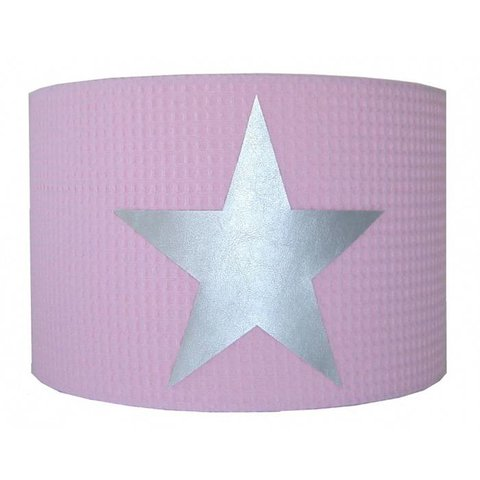 Designed4Kids kinderlamp ster roze