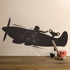 Vliegtuig kinderkamer