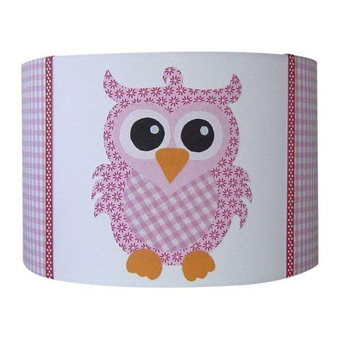 Designed4Kids kinderlamp uil roze