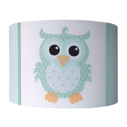 Designed4Kids kinderlamp uil mint groen