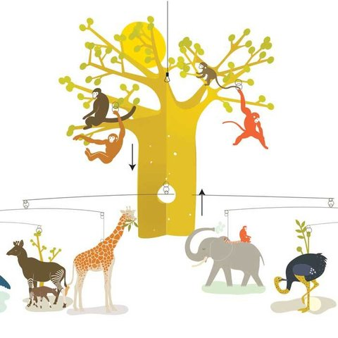 Djeco mobiel Afrikaanse savanne