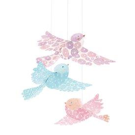 Djeco Djeco decoratie hangers glitter vogels