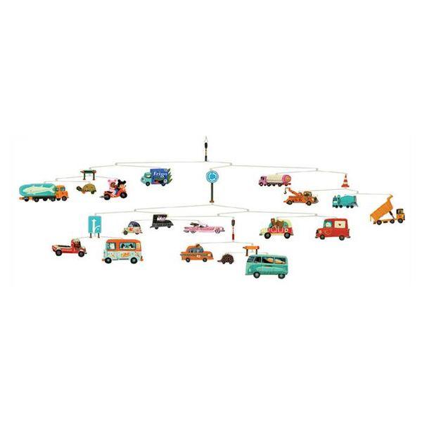 Djeco Djeco mobiel autos traffic
