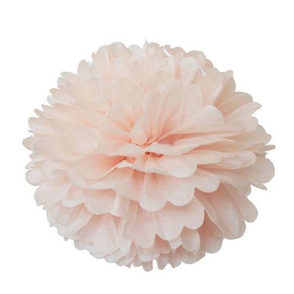 Engelpunt Engelpunt Pom pastel roze