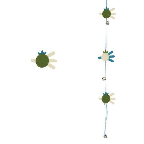 Esthex bellenkoord vis groen