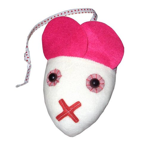 Esthex babyknuffel muis Phil roze