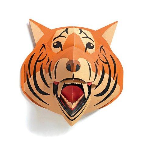 Djeco pop up schilderij tijger